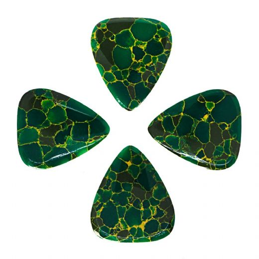 Stone Tones Arizona Jade 4 Guitar Picks